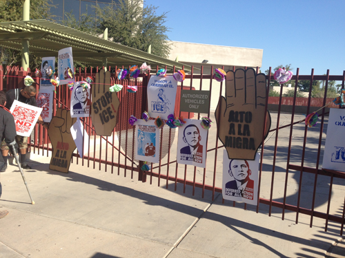 Protesting Unjust Deportations in Phoenix