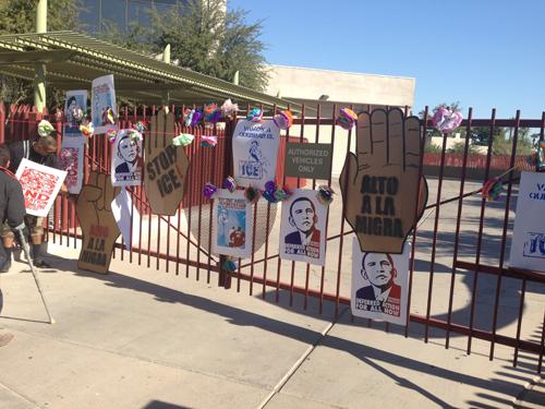 Protesting Unjust Deportations in Phoenix