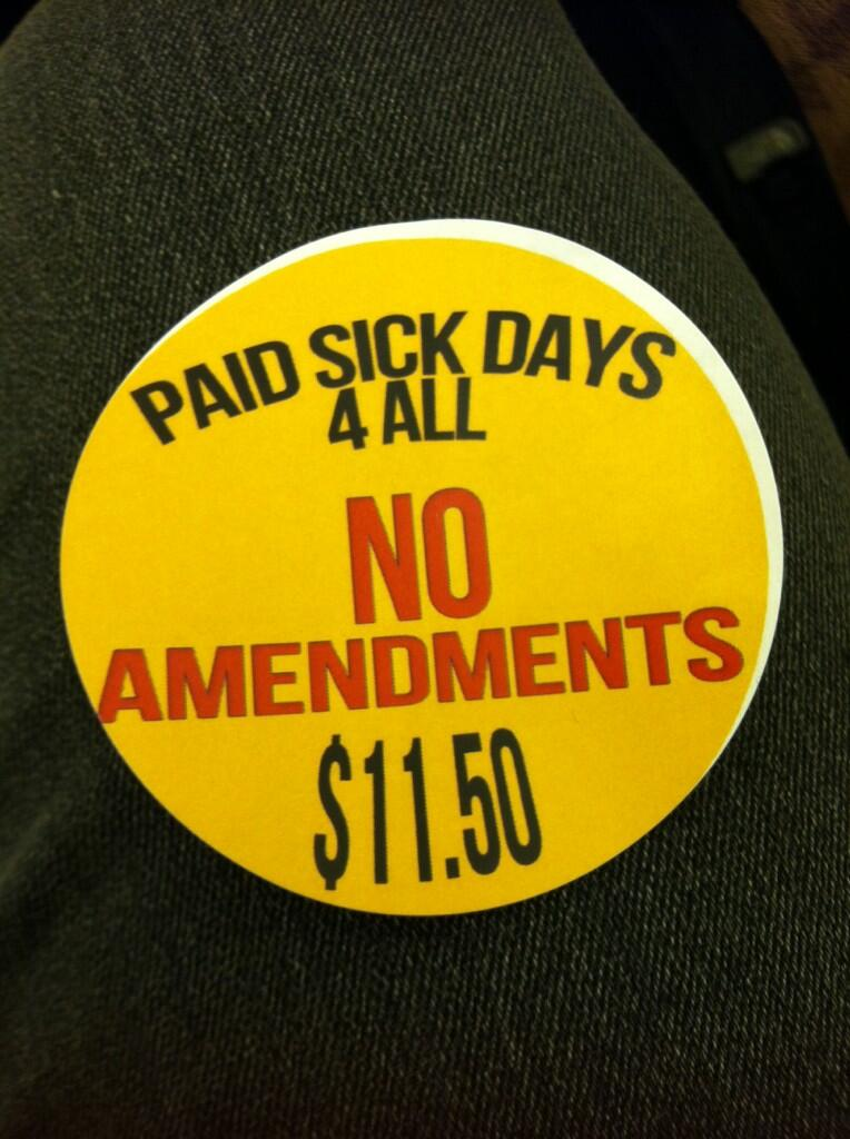 Paid Sick Days for All