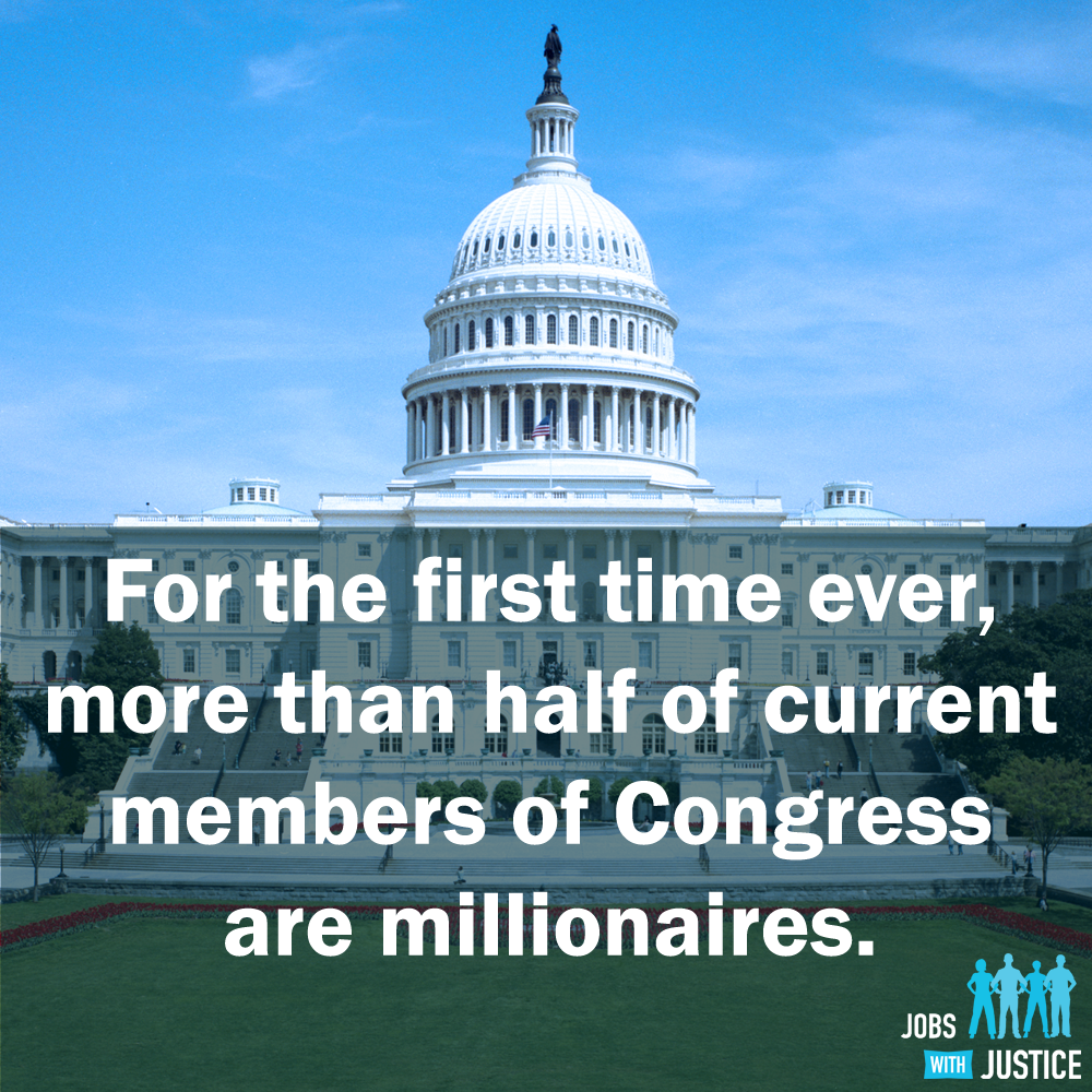 "This could explain a few things... ""Among the 534 current members of Congress, at least 268 had an average net worth of $1 million or more for 2012."" Learn more: http://bit.ly/1dCYesa"