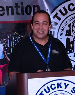 Bonifacio Aleman, executive director of Kentucky Jobs with Justice