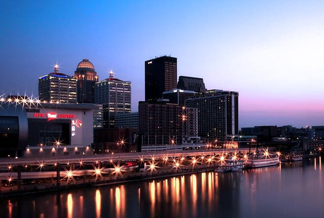 Downtown Louisville, KY. Photo via Wikimedia.